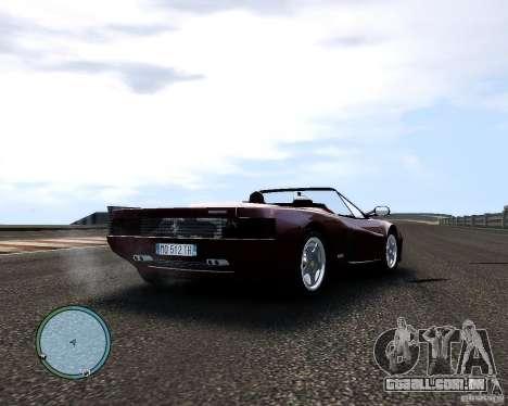 Ferrari Testarossa para GTA 4 vista direita