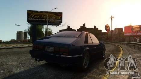 Uranus Hatchback para GTA 4 vista direita