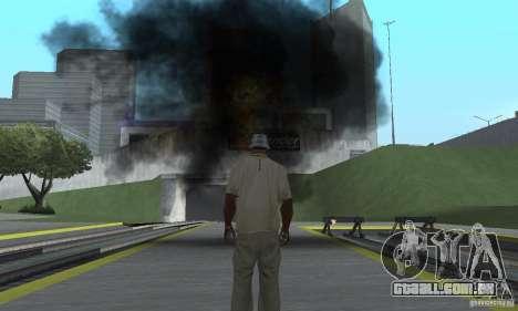 New Effects para GTA San Andreas segunda tela