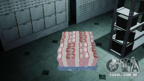 Dinheiro indonésio para GTA 4 por diante tela