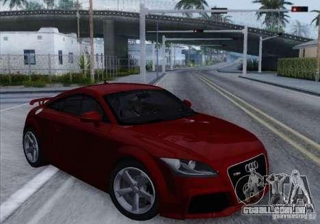 Audi TT-RS Coupe para GTA San Andreas esquerda vista
