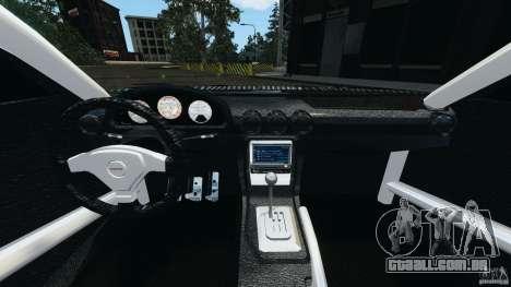 Nissan Silvia KeiOffice para GTA 4 vista de volta