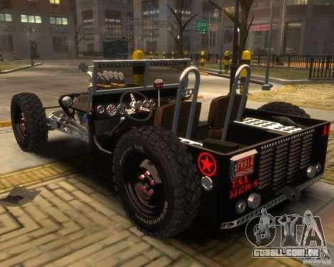 Willys Hot-Rod para GTA 4 esquerda vista