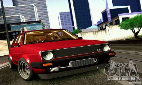 Volkswagen Golf MkII Racing para GTA San Andreas