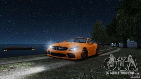 Mercedes-Benz SL65 AMG Black Series 2009 [EPM] para GTA 4 vista superior
