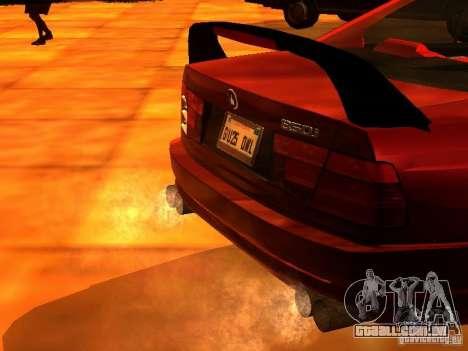 BMW 850i para GTA San Andreas vista direita