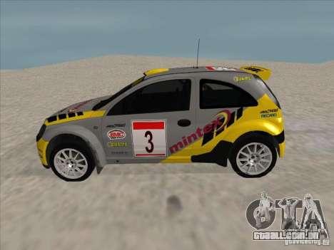 Opel Rally Car para GTA San Andreas esquerda vista