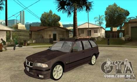 BMW 318i Touring para GTA San Andreas esquerda vista