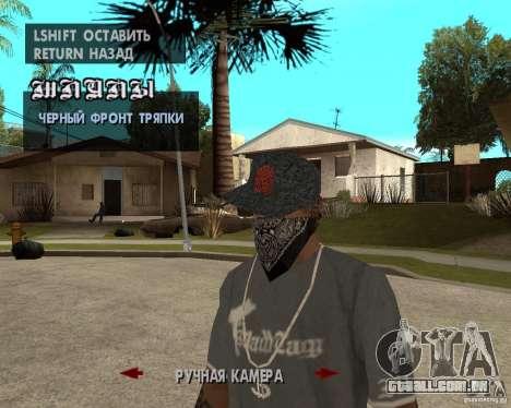 Hip-Hop caps para GTA San Andreas sétima tela