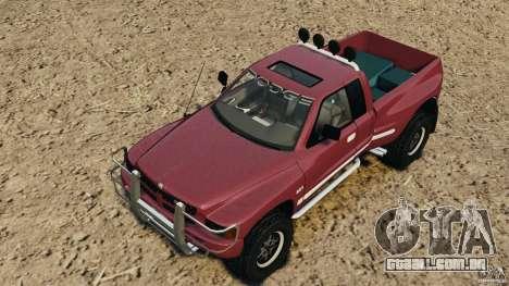 Dodge Ram 2500 Army 1994 v1.1 para GTA 4 vista inferior