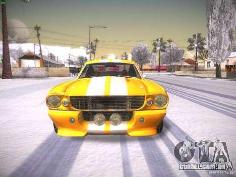 Shelby GT500 Eleanor para GTA San Andreas vista direita