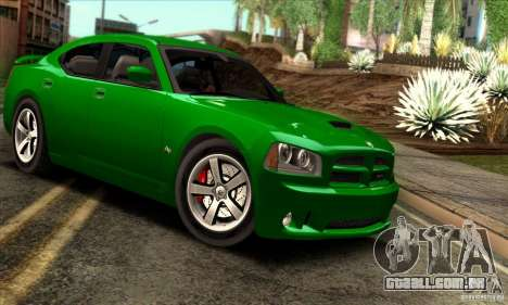 Dodge Charger SRT8 para GTA San Andreas vista interior