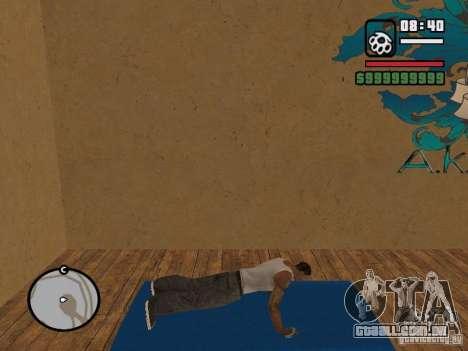 Training and Charging para GTA San Andreas segunda tela