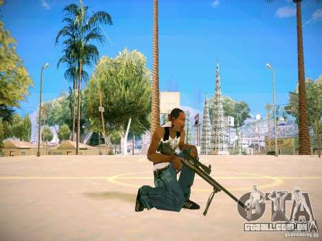 Armas Pack HD para GTA San Andreas nono tela