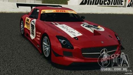 Mercedes-Benz SLS AMG GT3 2011 v1.0 para GTA 4