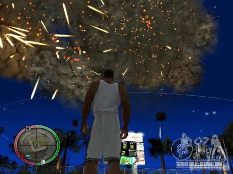 RAIN OF BOXES para GTA San Andreas sétima tela