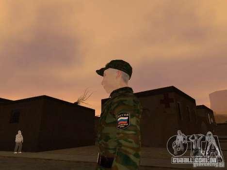 Soldados do exército russo para GTA San Andreas segunda tela