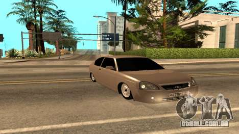 LADA Priora 2172 para vista lateral GTA San Andreas