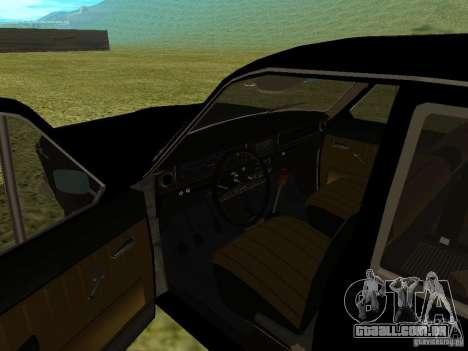 Volga GAZ-24-01 para GTA San Andreas vista traseira