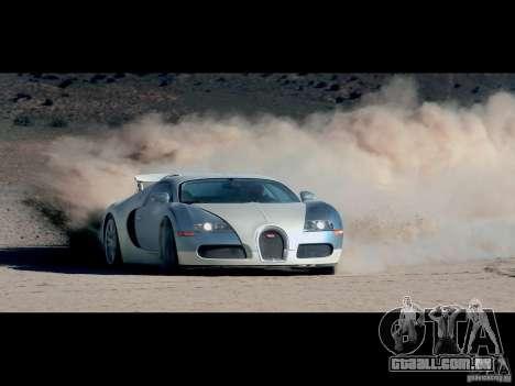Carregamento telas Bugatti Veyron para GTA San Andreas por diante tela