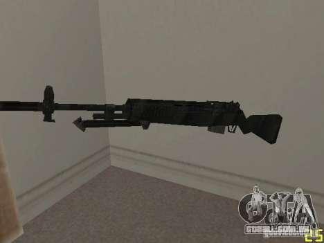 Armas do COD MW 2 para GTA San Andreas segunda tela