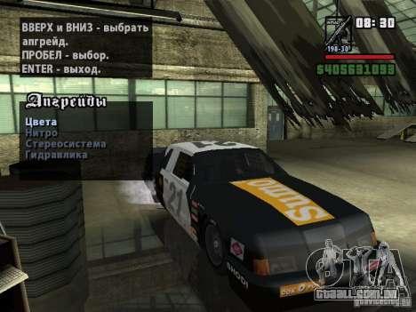 Transfender fix para GTA San Andreas segunda tela