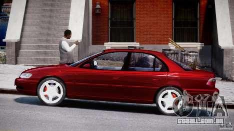 Opel Omega 1996 V2.0 First Public para GTA 4 esquerda vista