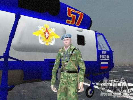Ka-27 para GTA San Andreas vista traseira