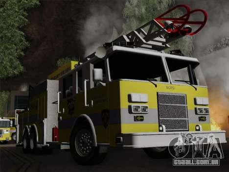 Pierce Arrow XT BCFD Tower Ladder 4 para GTA San Andreas