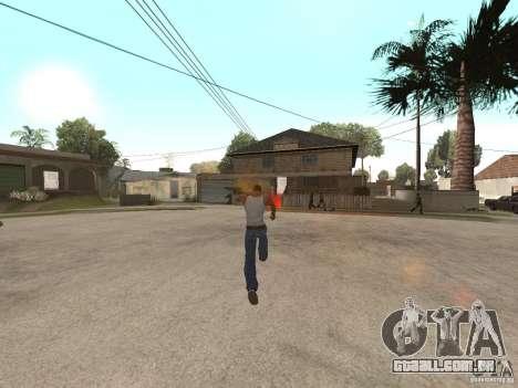 Awesome .IFP V3 para GTA San Andreas quinto tela