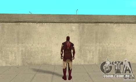 Ironman Mod para GTA San Andreas terceira tela