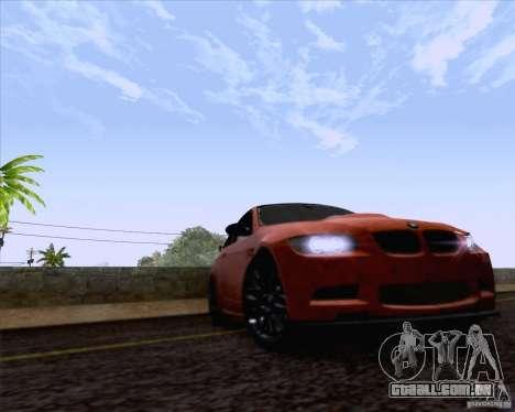 BMW M3 GT-S Fixed Edition para GTA San Andreas vista direita