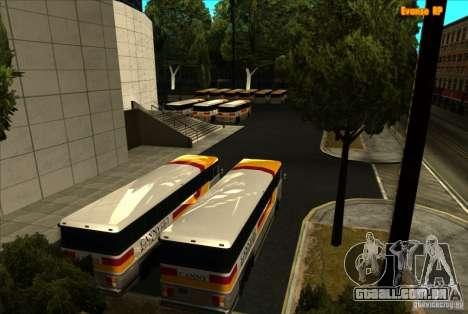 ENB SA: MP para computadores portáteis de médio  para GTA San Andreas quinto tela