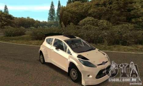Ford Fiesta Rally para o motor de GTA San Andreas