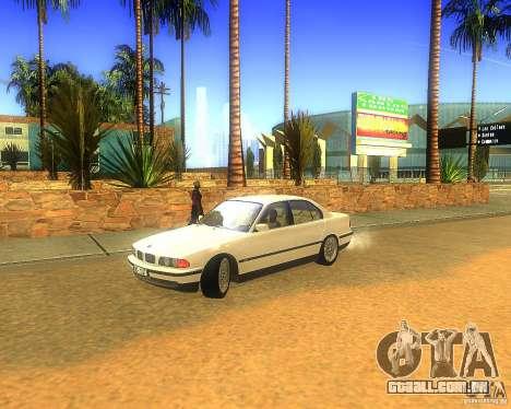 BMW 735i para GTA San Andreas