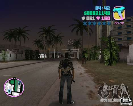 Desgaste Vercetti Gang para GTA Vice City quinto tela
