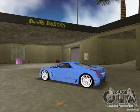 Cadillac Cien para GTA Vice City deixou vista