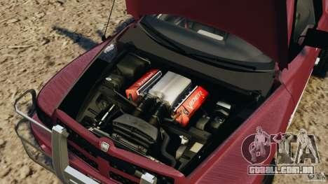 Dodge Ram 2500 Army 1994 v1.1 para GTA 4 vista de volta