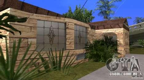 Novas texturas de casas e garagens para GTA San Andreas por diante tela