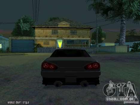 ELEGY BY CREDDY para GTA San Andreas traseira esquerda vista