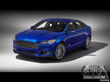 Telas de carregamento Ford para GTA San Andreas sétima tela