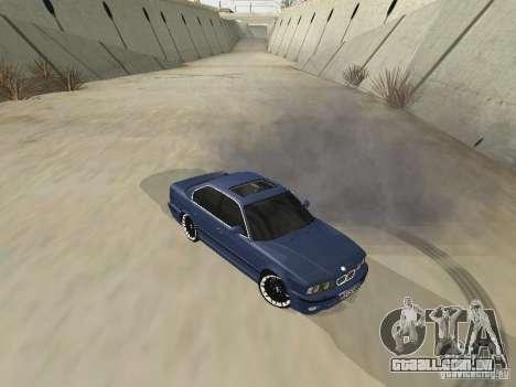 BMW M5 E34 V2.0 para GTA San Andreas esquerda vista
