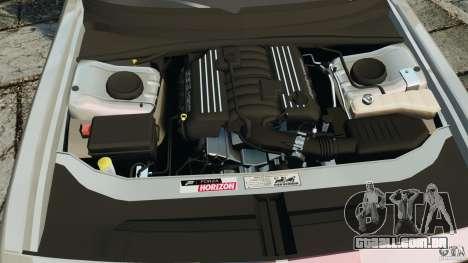 Dodge Challenger SRT8 392 2012 para GTA 4 vista superior
