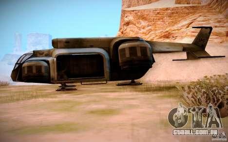 BTR-20 Yastreb para GTA San Andreas esquerda vista