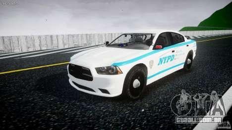 Dodge Charger NYPD 2012 [ELS] para GTA 4