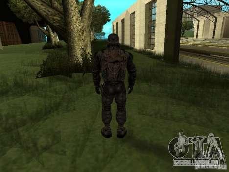 Membro considera de STALKER para GTA San Andreas segunda tela