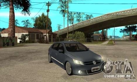 Volkswagen Gol G5 para GTA San Andreas vista traseira