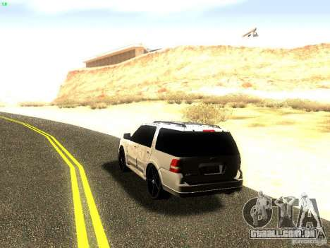Ford Expedition 2008 para GTA San Andreas vista traseira