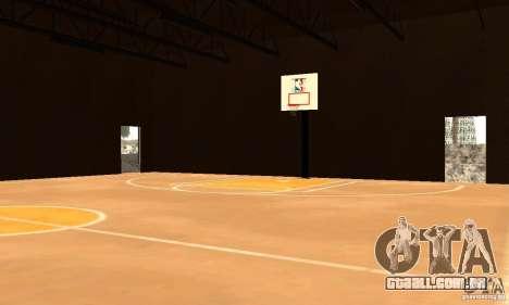 Basketball Court v6.0 para GTA San Andreas