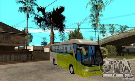 Marcopolo Viaggio G7 1050 Santur para GTA San Andreas vista traseira